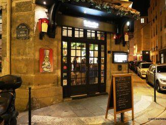 Вход в ресторан Rainettes, Париж